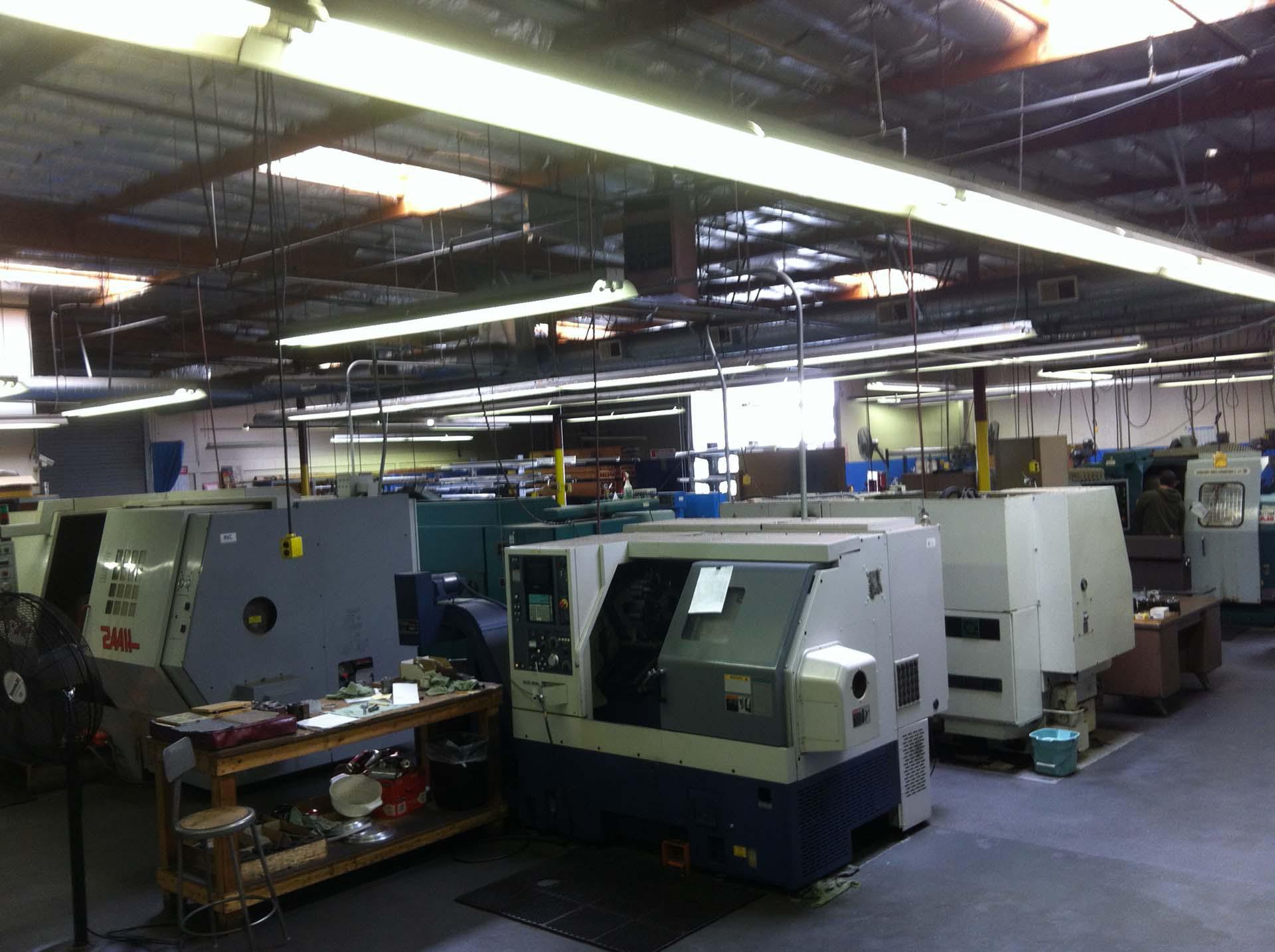production - New World Machining, CA